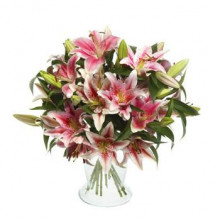 Exclusivo arreglo con Liliums Perfumados