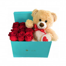 Box Tiffa 12 Rosa mas Oso Love