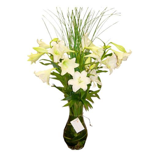 Arreglos Florales De Azucenas Floreras Tu Jardn