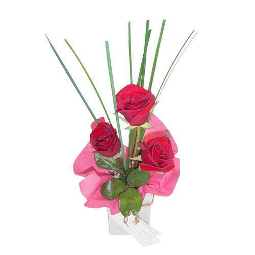 Las flores dise o for Arreglos de rosas sencillos