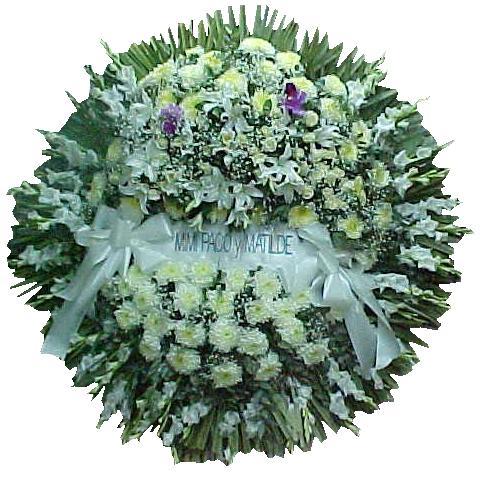 coronas para cocherias, velatorios , funerales , coronas de flores