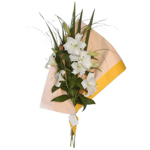 Envio de Flores , Ramo de Flores Liliums Grandes