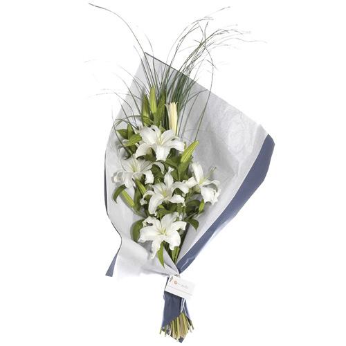 Flores a domicilio , Ramo de liliums Blancos
