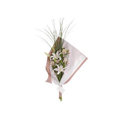 Envio de flores , Ramos de flores Liliums y Alstroemerias
