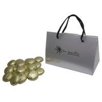 Bombones carterita con monedas de chocolates