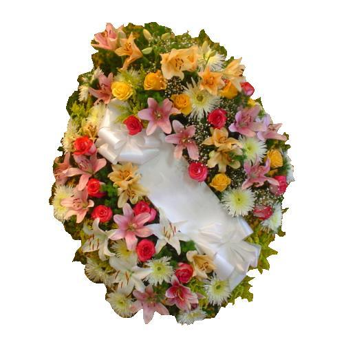 envio de coronas para funerales , cementerios , coronas de flores
