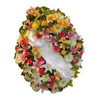 Coronas de flores para condolencias