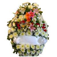 Coronas de flores para cementerios